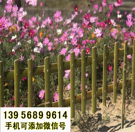 吕梁方山县竹子护栏 竹篱笆pvc绿化护栏竹护栏淅川县